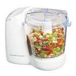 New Hamilton Beach 72600 Freshchop Food Chopper - White